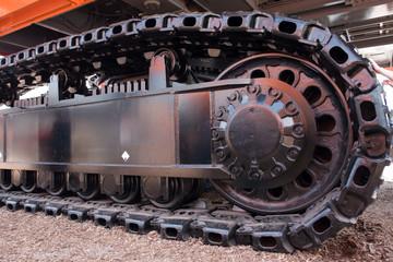 Stahlketten-Laufwerk