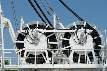 Transportrollen für Energiekabel