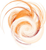 abstrakte Form aus Spiralen