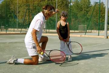Leçon de Tennis 02