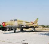 Cold War era Soviet jetfighter Su-22 poster