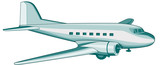 DC3 Airliner poster