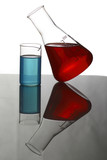 Glass with coloured liquid # 3 poster