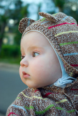 small Boy on street