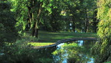 Spring Grove Cemetery reflecting pond poster