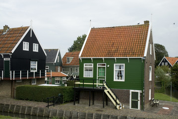 Typical Dutch village