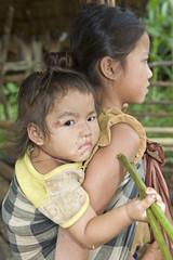 Hmong-Geschwister