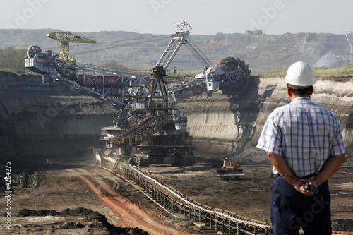 Inżynier kopalni węgla