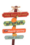 Thanksgiving Sign poster
