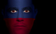 Haitian Flag - Male Face