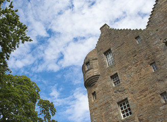 Kellie Castle in Fife , Scotland - ancient and haunted