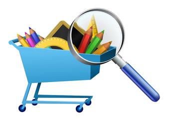 Analyse des achats de la rentrée scolaire