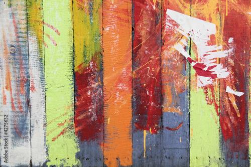 mur de planches multicolore de pascal cribier photo libre de droits 4275632 sur. Black Bedroom Furniture Sets. Home Design Ideas