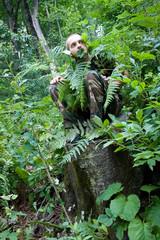 wild forest man