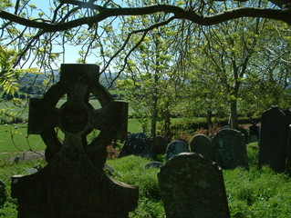 gravestones in arklow