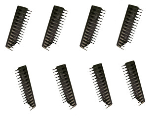 micro chip rows