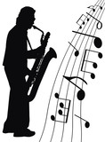 Jazz for sax poster