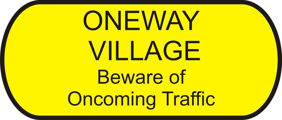 One Way Village