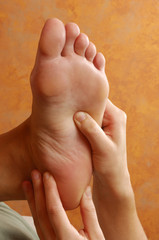Reflexology Foot Massage At Day Spa