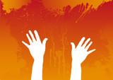 Hand color sketch poster