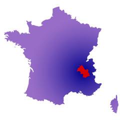 Isère en France