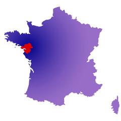 Loire Atlantique en France