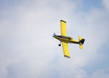 Yellow Crop Duster poster
