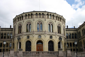 Stortinget (Parlament) in Oslo
