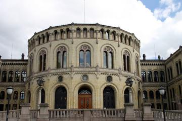 Stortinget (Parlament) in Oslo