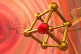 Render of molecule poster