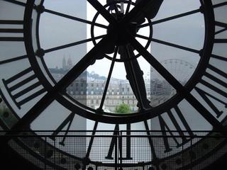 Fototapeta Zegar w Muzeum d'Orsay