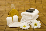 Fototapeta ręcznik - olej - Higiena