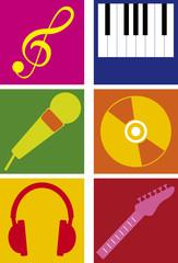 icone musica