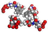 aspartame molecule poster