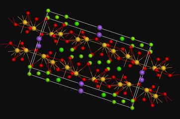 Amphibole molecule