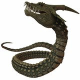 Dinoconda - Fantasie Tier poster
