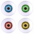 color eyeball