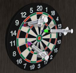 dart board  & medical