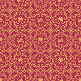 Retro fabric or wallpaper tilable repeat pattern poster