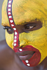 Tribal face