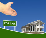 New house for sale poster