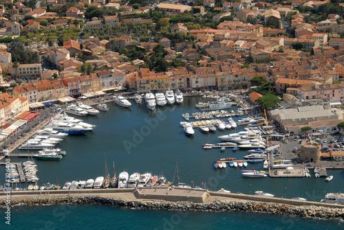 Leinwandbild Motiv Port de Saint-Tropez