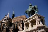 Budapest landmarks poster