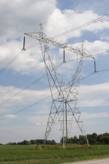 High Tension Power Line Tower