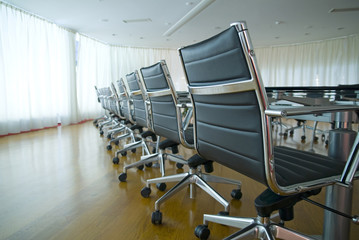 Chairs in Conference Room