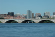 Rosslyn, Memorial Bridge, Potomac River