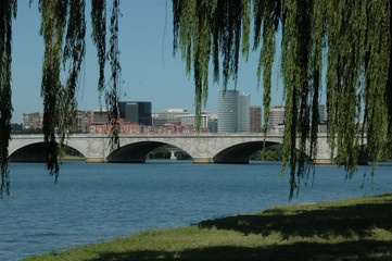 Rosslyn, Potomac River, Memorial Bridge, Washington DC