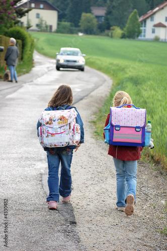 Gefährlicher Schulweg