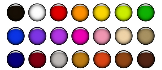Buttons colors