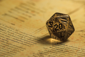 Role Playing Game K20 Dice